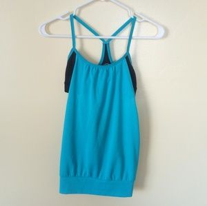 SO Blue Athletic Workout Top Size S